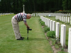 A War Grave Photographer