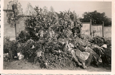 Essey-Les-Nancy Churchyard Crash site 25th July 1944,