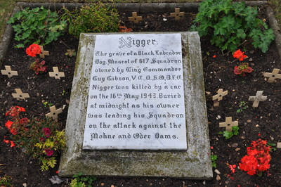 \'Niggers \' grave at RAF Scampton - Nick Ridout