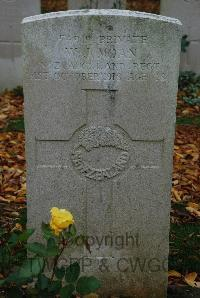 Anneux British Cemetery - Moan, William John