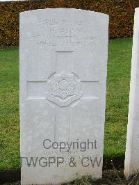 Bagneux British Cemetery Gezaincourt - Aspin, Horace