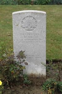 Queant Road Cemetery, Buissy - Watts, John William