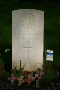 Authuile Military Cemetery - McBride, William