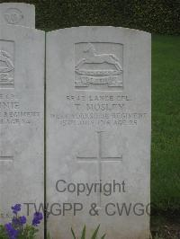 Authuile Military Cemetery - Mossey, Thomas James