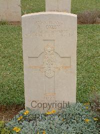 Sfax War Cemetery - Oxley, Arthur