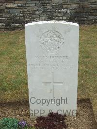 Connaught Cemetery - Little, S