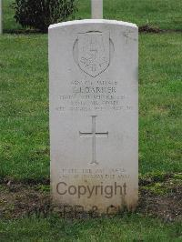 Marissel French National Cemetery - Barker, Thomas James